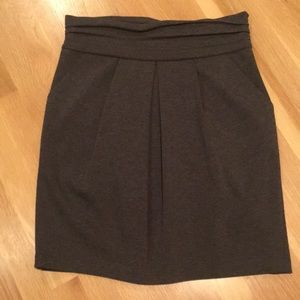 BCBG Max Azria heavy knit skirt with pockets